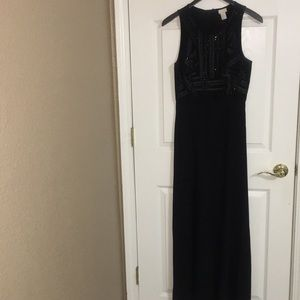 Sequenced Maxi Gown